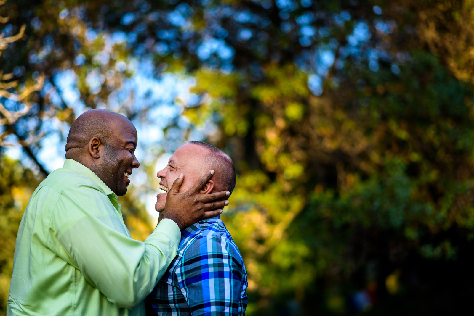 chicago gay engagement photo