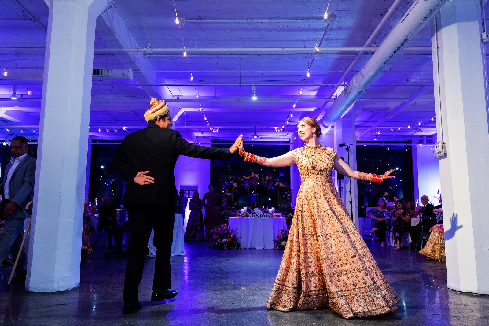 Zhoe B Art Center Indian Wedding Photography