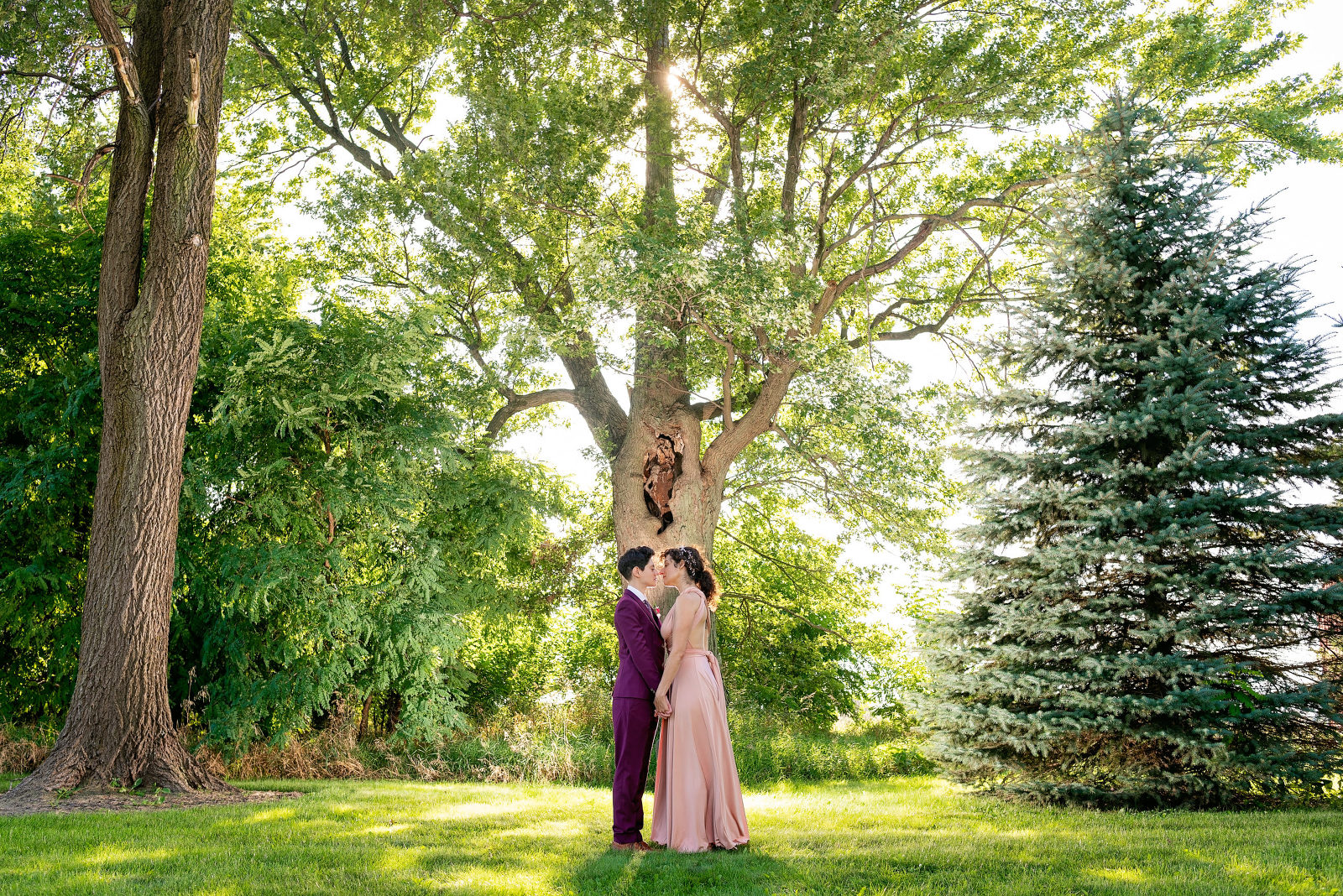 chicago lesbian wedding photography