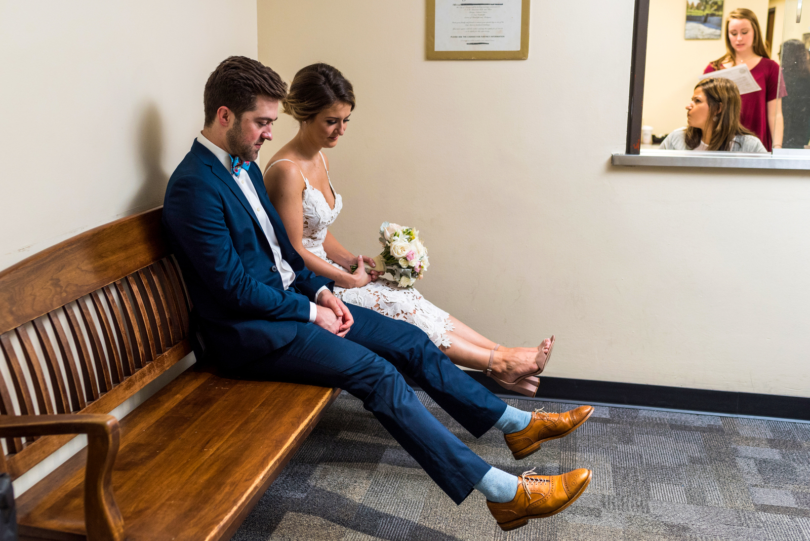 chicago courthouse wedding photography