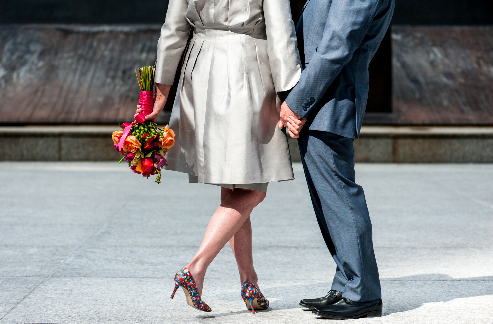 downtown chicago elopement photography