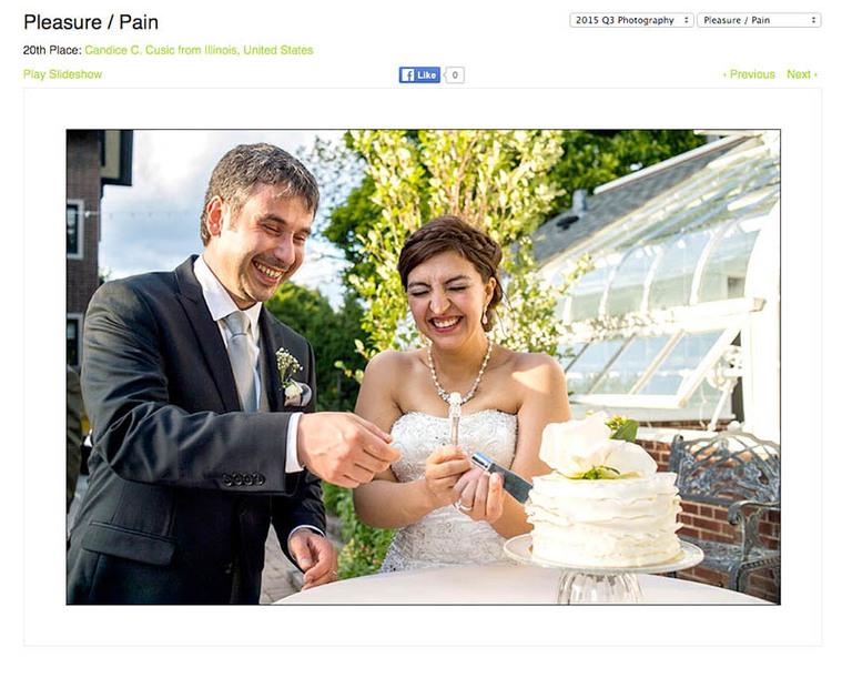 Internationally award-winning Chicago wedding photography by Candice C. Cusic