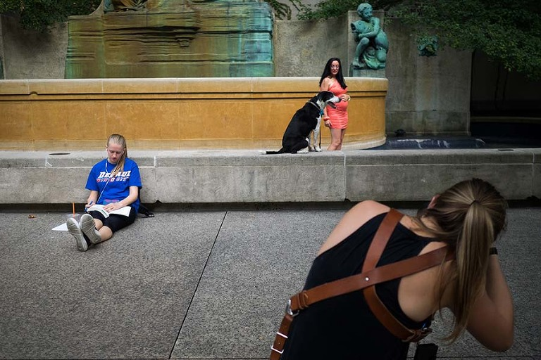 Chicago photography class Moment Driven Workshop by Candice Cusic