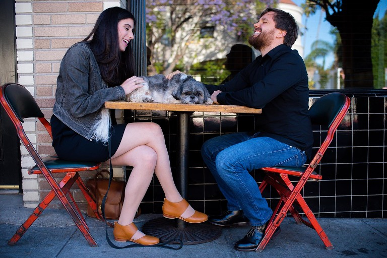 DTLA engagement photography by Candice Cusic