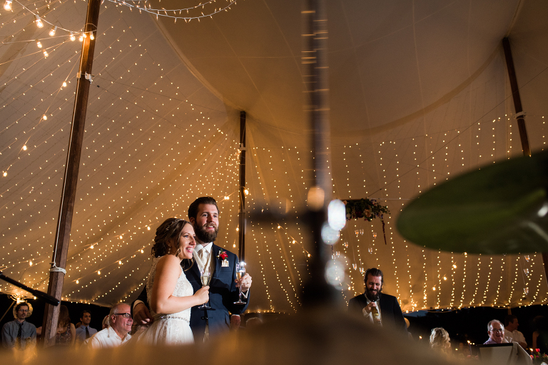 tent wedding photography