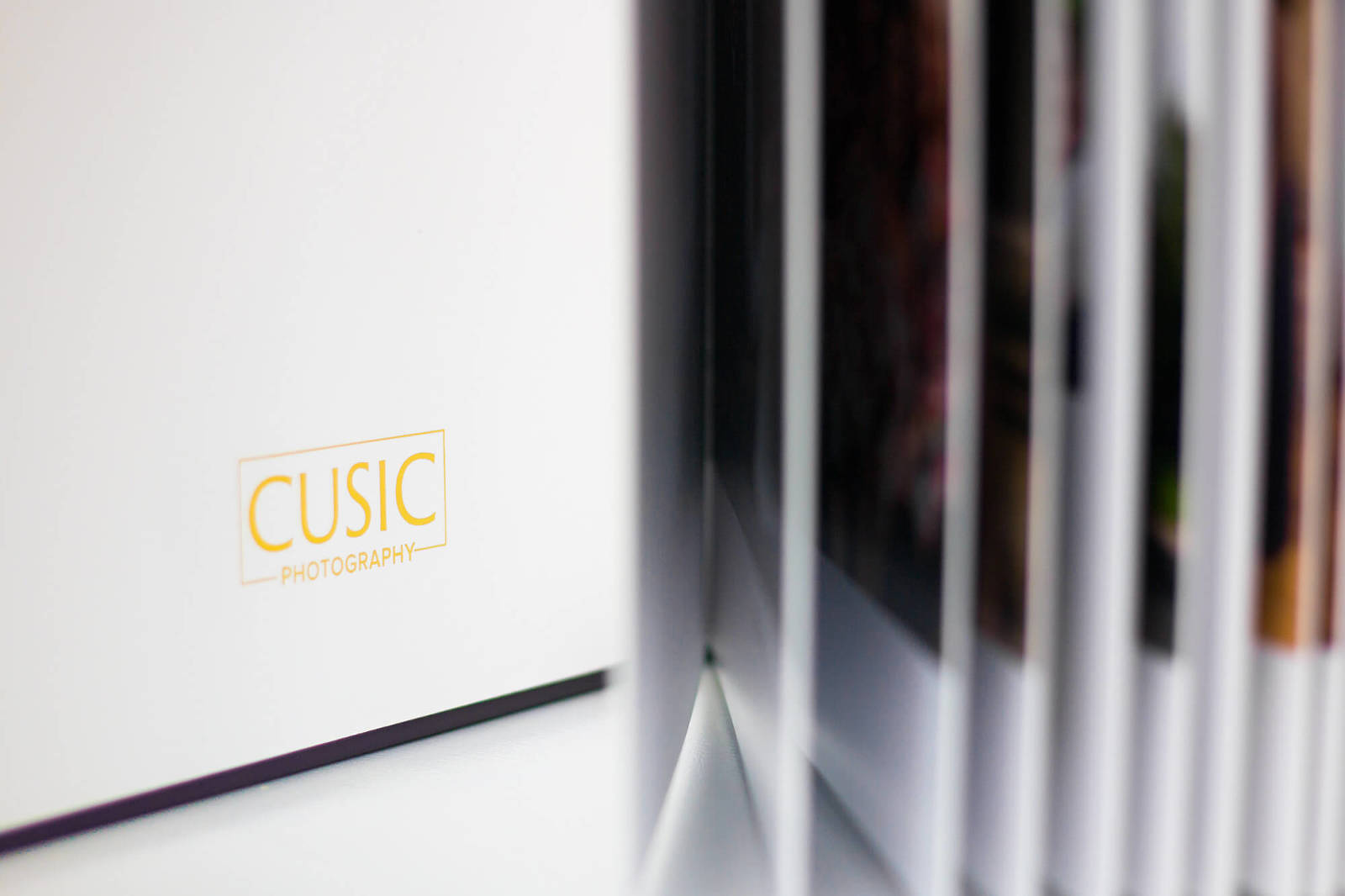 Wedding albums by Chicago photographer Candice C. Cusic