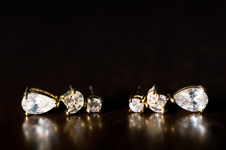 Jewelry details by wedding photography Candice C. Cusic