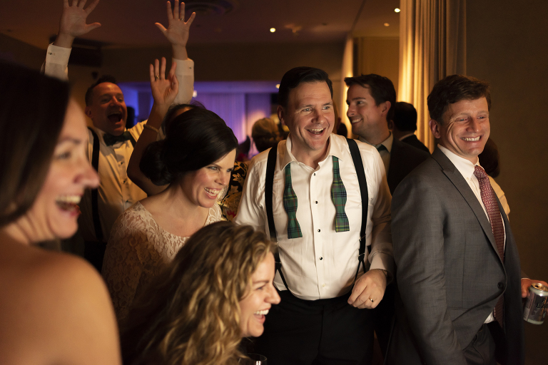downtown chicago wedding reception photographed by Candice C. Cusic Photography