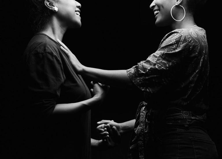 Chicago lesbian engagement session