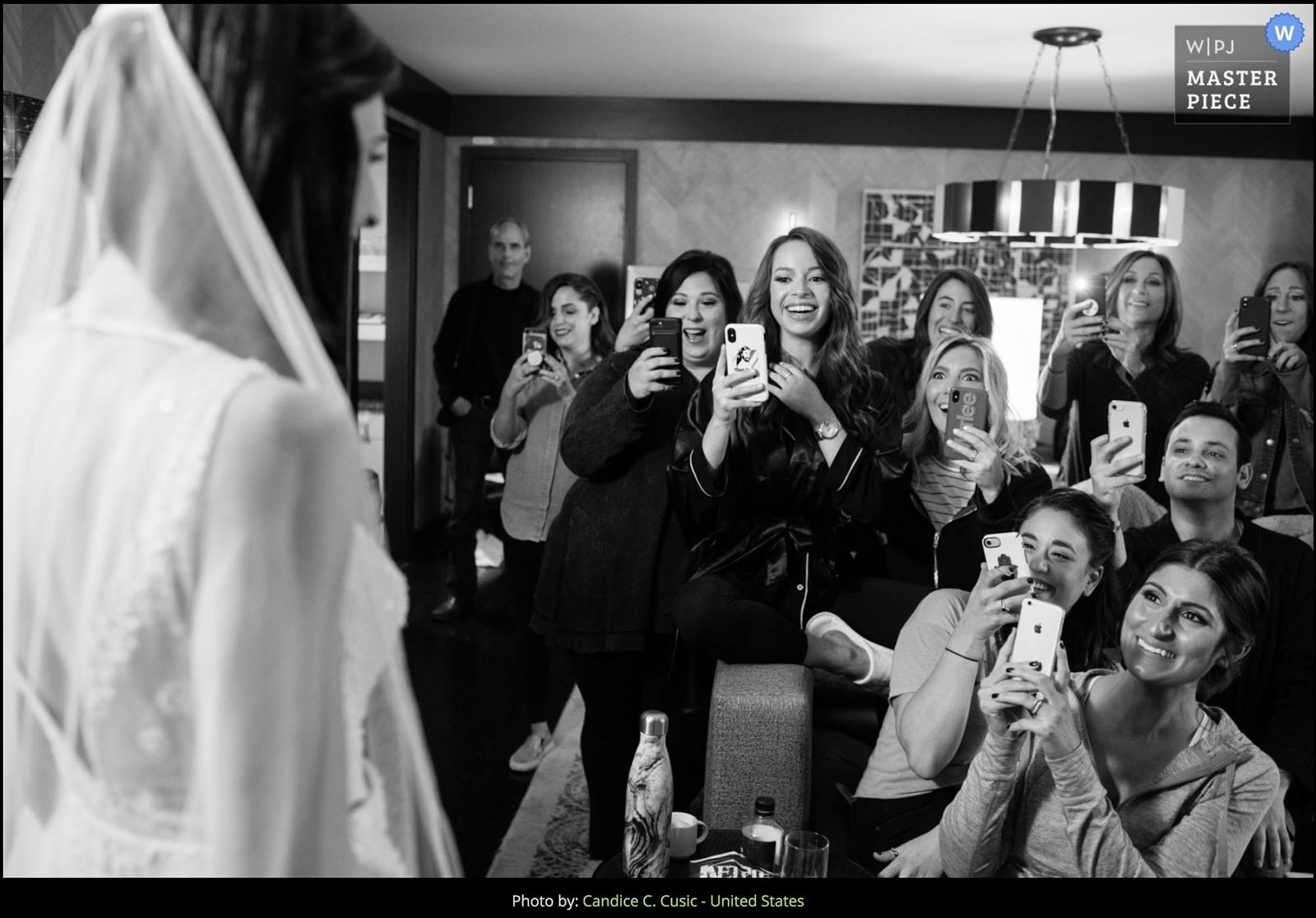 Loews hotel wedding photography