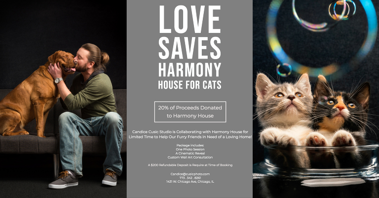 Candice Cusic Photography is collaborating with Harmony House in Chicago