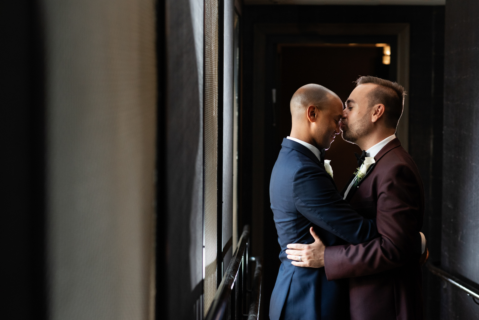 Chicago gay wedding photographer